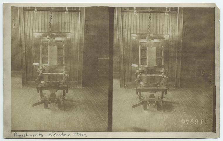 [Electric chairs.] Digital ID: 814385. New York Public Library