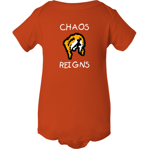 CHAOS REIGNS Antichrist Baby Onsie creeper